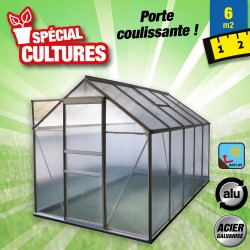 outiror Serre jardin polycarbonate Diamant 106 6m2 176009190093