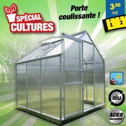 outiror Serre jardin polycarbonate Diamant 66 3.6 m2 176009190092