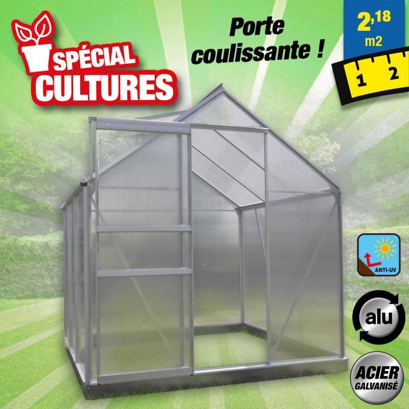outiror Serre jardin polycarbonate Diamant 2.3 m 176009190091