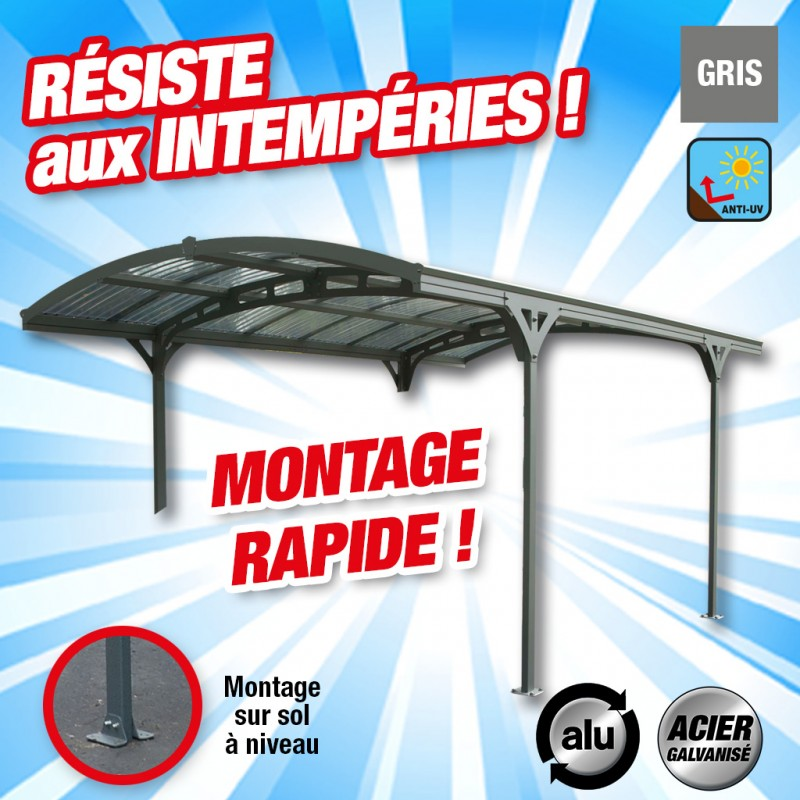 outiror Carport alu Hispano 5000 176009190083