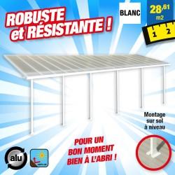 outiror Toit terrasse alu polycarbonate Feria 310 blanc 176009190073