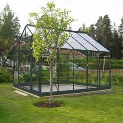 Serre jardin verre trempé 4 mm - Sekurit 108 - 7,6 m²