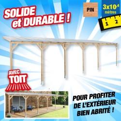 outiror Toit terrasse bois 3x10 4 m 176009190051
