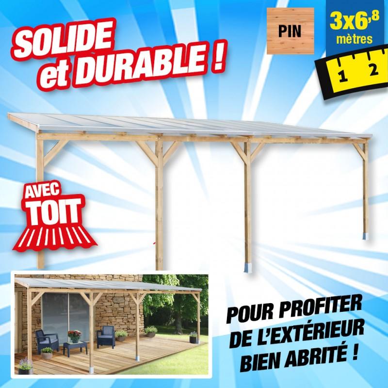 outiror Toit terrasse bois 3x6 8 m 176009190047