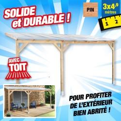 outiror Toit terrasse bois 3x4 9 m 176009190045