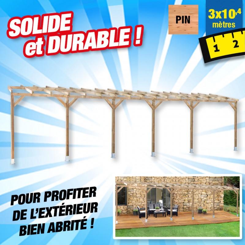 outiror Toit terrasse bois 3x10 4 m 176009190042