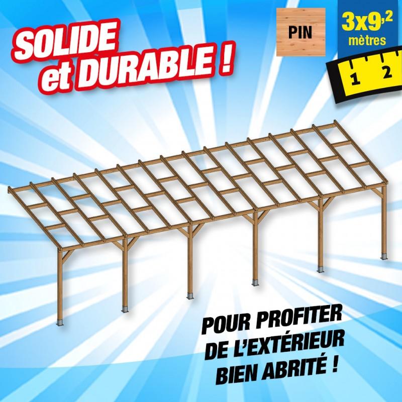 outiror Toit terrasse bois 3x9 2 m 176009190041