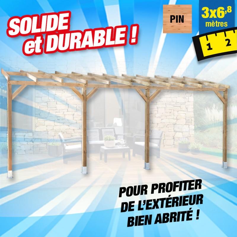 outiror Toit terrasse bois 3x6 8 m 176009190038