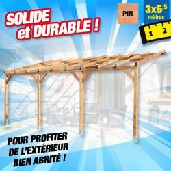 outiror Toit terrasse bois 3x5 5 m 176009190037