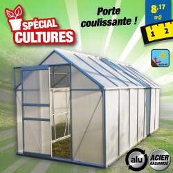 outiror Serre jardin polycarbonate Diamant 146 82m2 176009190106