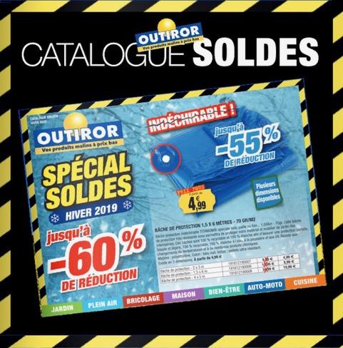 Catalogue Outiror Solde HIVER 2019 - 2020