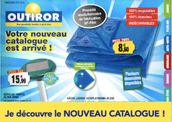 nouveau catalogue OUTIROR Printemps 2018