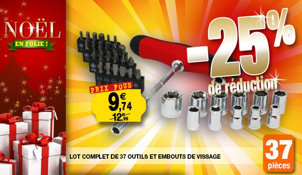 lot 37 outils