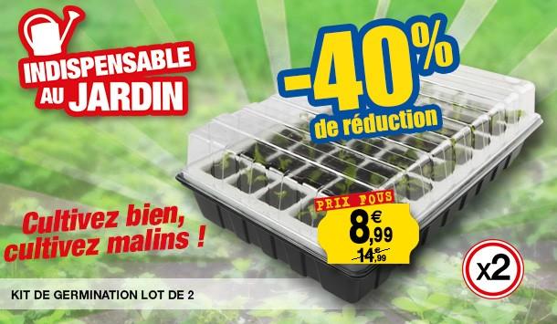 kit germination lot de 2