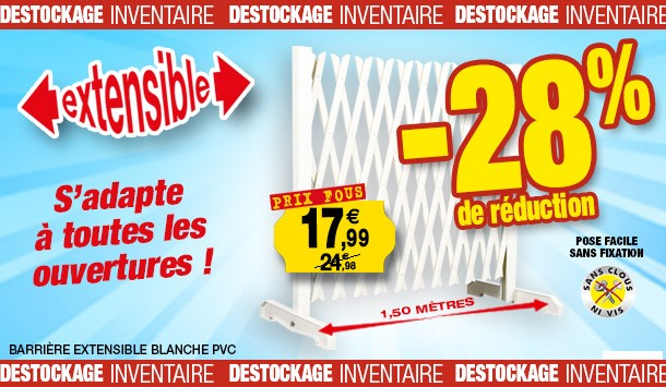 barriere PVC